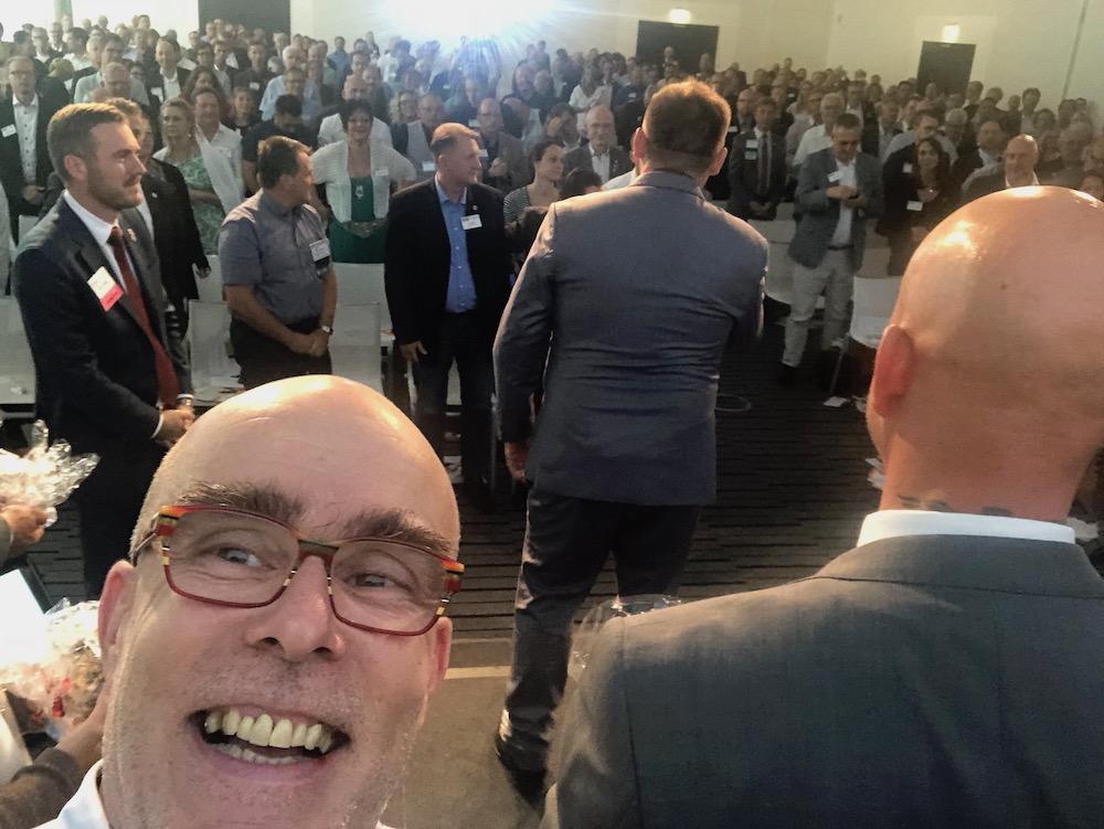 Bild: Rede auf der BNI-D-A-CH-Konferenz 2018